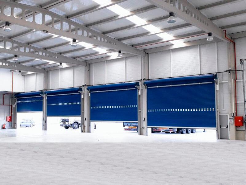 porta industrial Enrolar nao termico