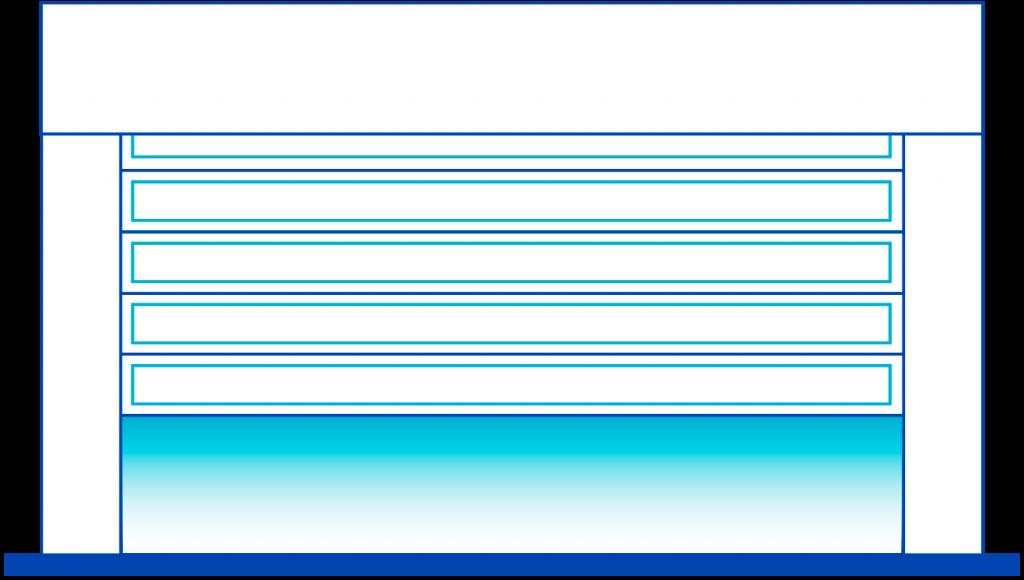 seccionados transparente